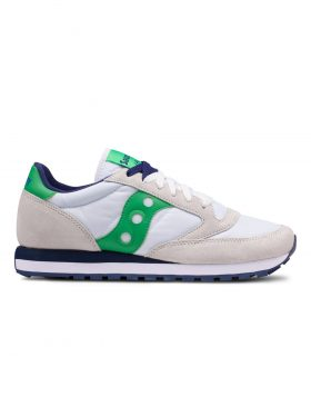 SAUCONY – Jazz Original Man (White/Green)