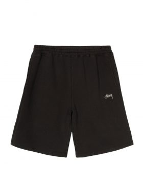 STUSSY – Stock Fleece Short (Black)