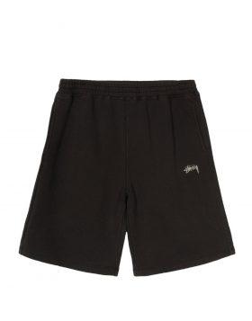 STUSSY – Stock Fleece Short (Black)