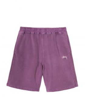 STUSSY – Stock Fleece Short (Purple)