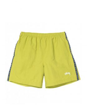 STUSSY – Taping Nylon Short (Lime)