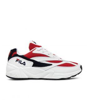 FILA – V94 Low Man (White/Fila Navy/Fila Red)