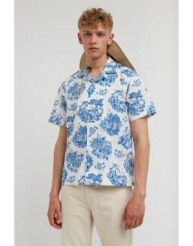 WOOD WOOD – Brandon Shirt (Tourist off-white)