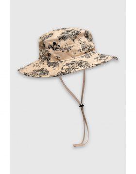 WOOD WOOD – Forest Hat (Sand AOP)