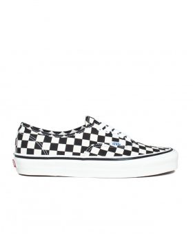 VANS – Authentic 44 DX (Anaheim Factory) – Black/Checkerboard