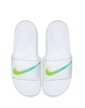 NIKE – BENASSI JDI SE (White/Hyper Jade – Volt)