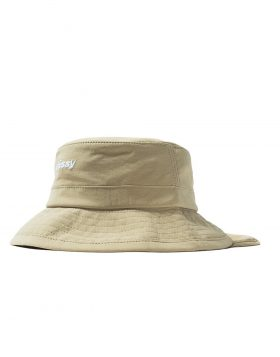 STUSSY – Bungee Bucket Hat (Tan)