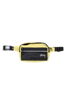 STUSSY – Diamond Ripstop Waist Bag (Berry)