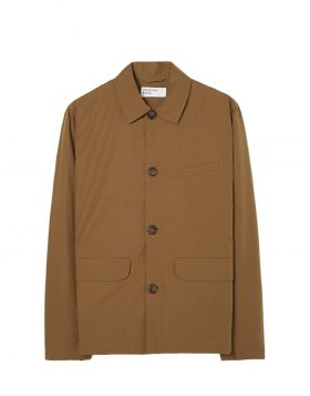 UNIVERSAL WORKS – Warmus Jacket in Khaki Poplin