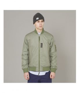 Wood Wood – Park Avenue Jacket Bomber (Army)