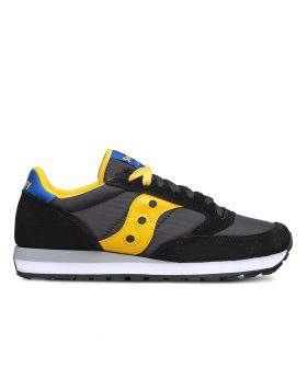 SAUCONY – Jazz O' Man (Black/Yellow/Blue)