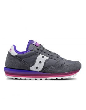 SAUCONY – Jazz O' Woman Rainbow (Charcoal/Purple)