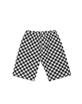 LIFE SUX – Beach Short (Checkerboard)