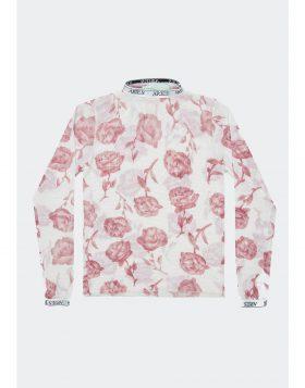 ARIES – Rose Tulle LS Top (Cream)
