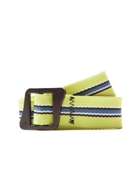 STUSSY – Striped Climbing Web Belt (Green)
