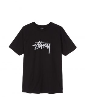 STUSSY – Stock Tee Woman (Black)