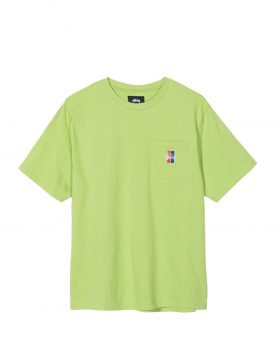 STUSSY – 2 Bar Stock Crew (Green)