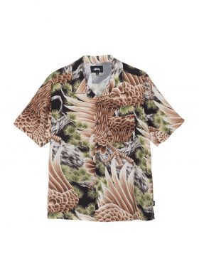STUSSY – Big Falcon Shirt (Black)