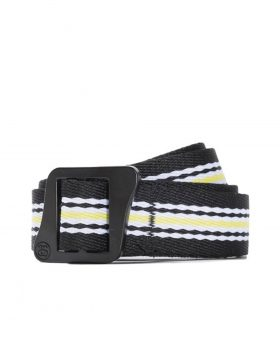 STUSSY – Striped Climbing Web Belt (Black)