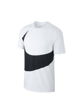 NIKE – Sportswear Swoosh Tee (White/Black)