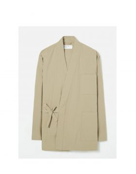 UNIVERSAL WORKS – Kyoto Work Jacket in Sand Ripstop Cotton