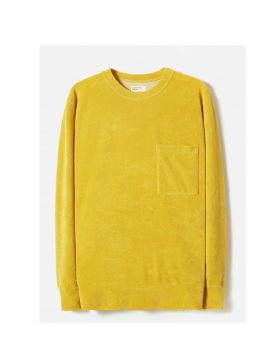 UNIVERSAL WORKS – Loose Pullover in Sunshine Terry Fleece