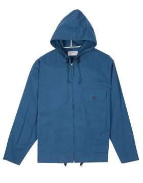 UNIVERSAL WORKS – Fistral Jacket in Hybrid Wax Cotton Blue