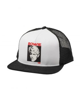"VANS – Trucker Cap X David Bowie ""Serious Moonlight"""