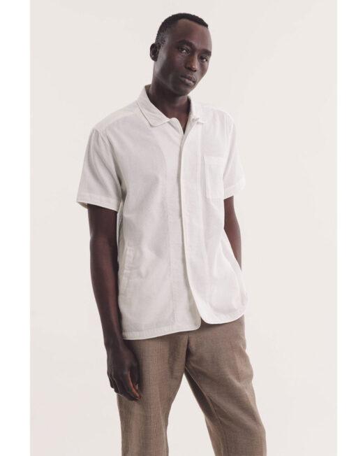 camicia bianca ymc