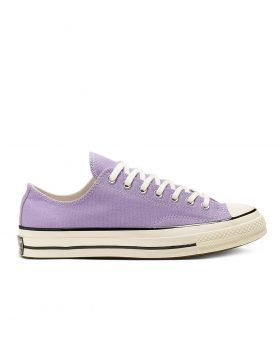 CONVERSE – Chuck 70 Washed Canvas Low (Washed Lilac/Egret/Egret)