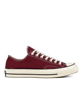 CONVERSE – Chuck 70 Classic Low Top (Dark Burgundy/Black/Egret)
