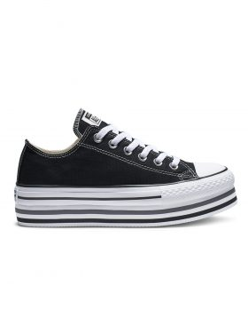 CONVERSE – Chuck Taylor All Star Platform (Black/White/Thunder)