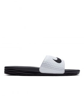 NIKE – Benassi Solarsoft Slide (White/Black)
