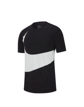 NIKE – Sportswear Swoosh T-Shirt (Black/White)
