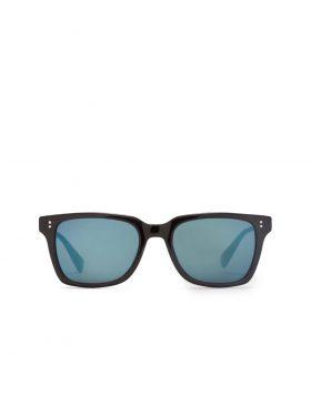 STUSSY – Angelo Sunglasses (Black/Blue Mirror)