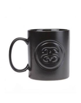 STUSSY – SS LINK Debossed Mug (Black)