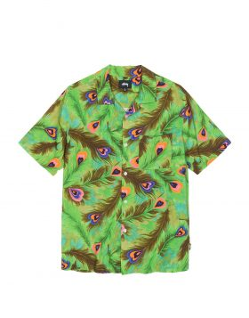 STUSSY – Peacock Shirt (Green)
