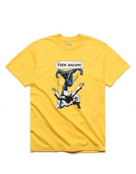 CHINATOWN MARKET – Fuck Racism T-Shirt (Yellow)