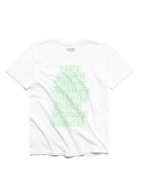 CHINATOWN MARKET – Hate T-Shirt (White)