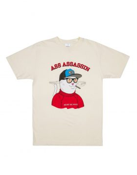 RIPNDIP – Ass Assassin Tee (Vintage White)