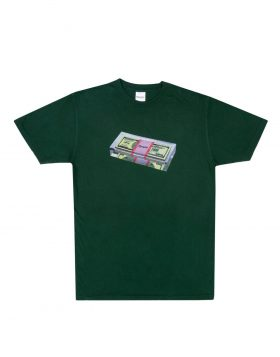 RIPNDIP – Fat Stack Tee (Hunter Green)