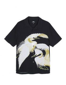 STUSSY – Big Crane Shirt (Black)