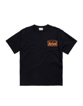 ARIES – Classic Temple SS T (Black)