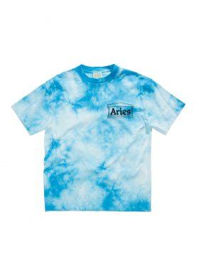 ARIES – TEMPLE Tie Dye SS T (Blue Tie Dye)