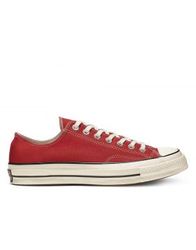 CONVERSE – Chuck 70 Vintage Canvas Low Top (Enamel Red/Egret/Black)