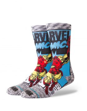 STANCE – Iron Man Comic Socks