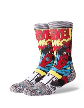 STANCE – Spiderman Comic Socks
