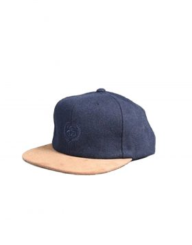 STUSSY – St Melton Visor Strapback Cap (Navy)