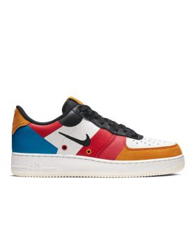 NIKE – Air Force 1 '07 Premium 1 Man (Sail/Black-Imperial Blue-Amber Rise)
