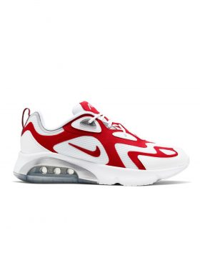 NIKE – Air Max 200 Man (White/University Red-Metallic)